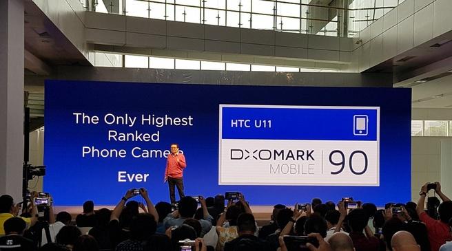 HTC U11 DxO