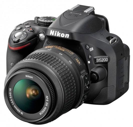 Nikon D5200 introductie top