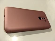 Pocophone cover 360 pink back