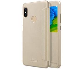 Nillkin Sparkle View Book Case - Xiaomi Redmi Note 5 Pro - Goud  Goud