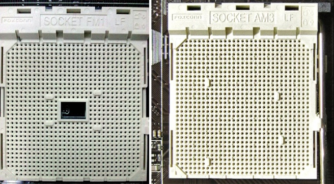 AMD Socket FM1 vs socket AM3+