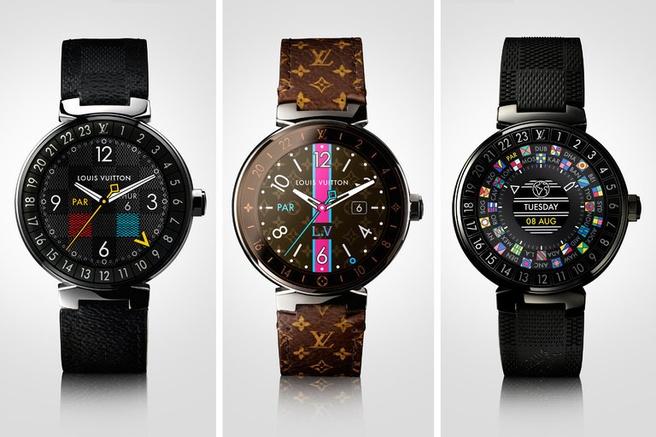 0fc3755244e Louis Vuitton brengt Android Wear-smartwatch van 2450 dollar uit ...