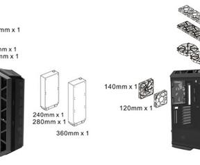 Cooler Master C700P en H500P
