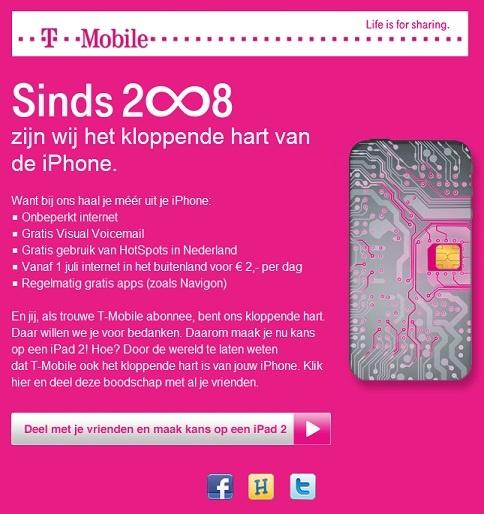 T-Mobile Actie