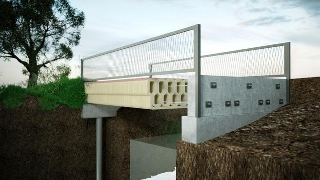 betonnen brug