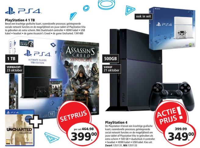 PS4 prijsverlaging