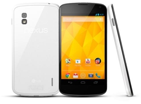 LG Nexus 4 8GB Wit