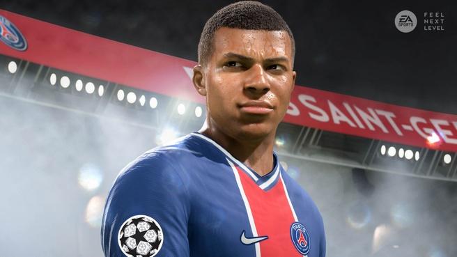 FIFA 21 op de PlayStation 5 en Xbox Series
