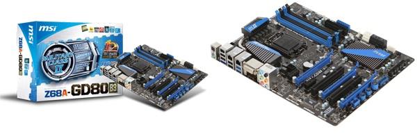 MSI Z68A-GD80(B3)