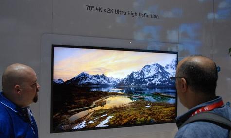 Samsung 70inch 4k2k tv prototype