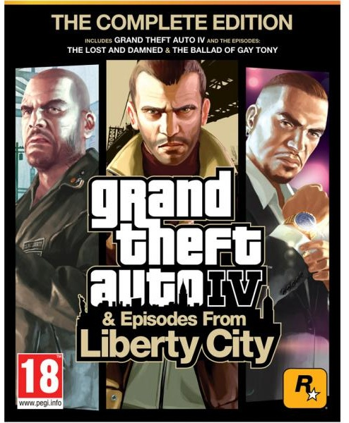 Grand Theft Auto IV: Complete Edition, PS3