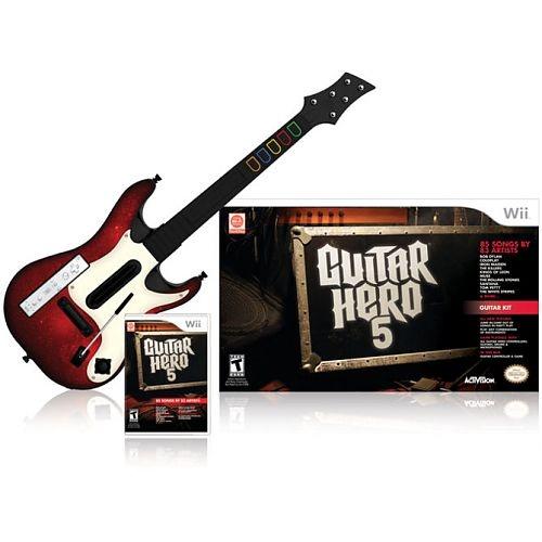 Guitar Hero 5, Wii