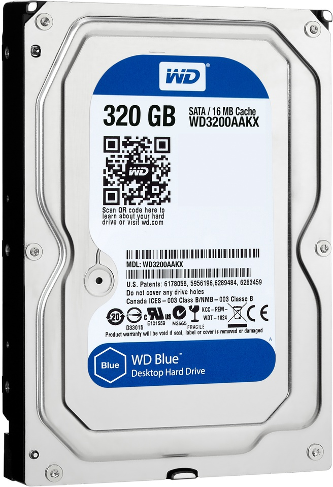 WD Blue WD3200AAKX, 320GB