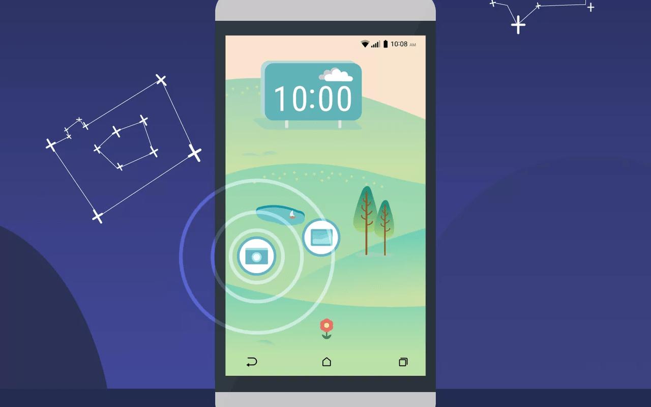 HTC 10 screenshot - thema's