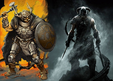 Scrolls vs The Elder Scrolls V: Skyrim