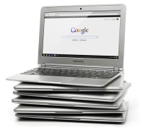 Samsung Chromebook-stapel