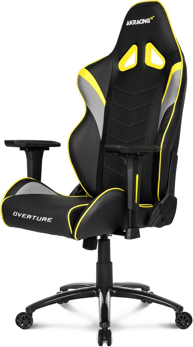 AK Racing Overture Gaming Chair (Zwart/Geel)