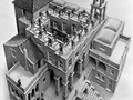 M.C. Escher - Klimmen en Dalen (1960)