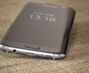 Galaxy S7 edge prorductfoto's