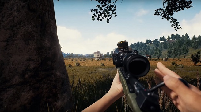 PlayerUnknown's Battlegrounds 1st person