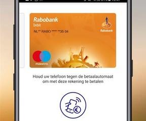 Rabo Wallet met nfc-betalen