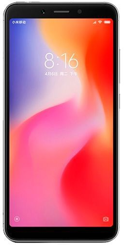 Xiaomi Redmi 6 (4GB intern) Grijs