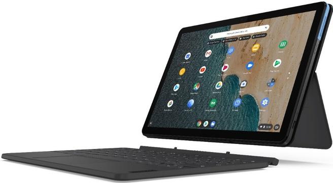 Lenovo IdeaPad Duet Chromebook Lenovo Chrome Tablet 64GB- ZA6F0005BE AZERTY