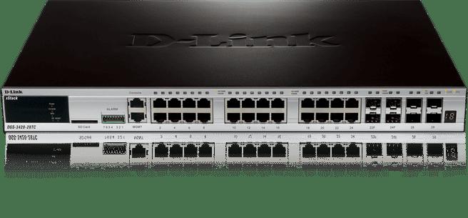 D-Link xStack DGS-3420-28TC