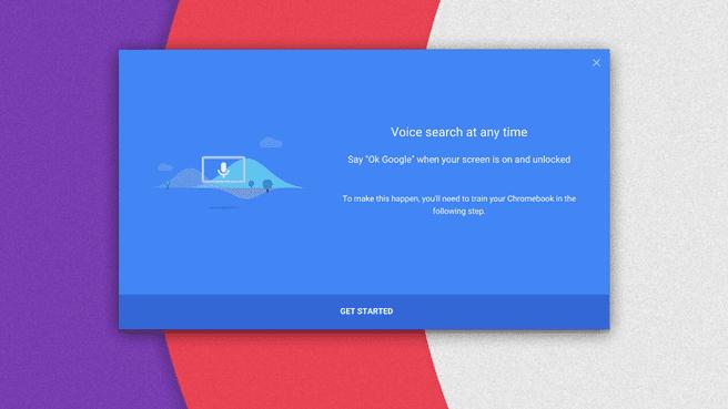 Chrome OS spraakbesturing