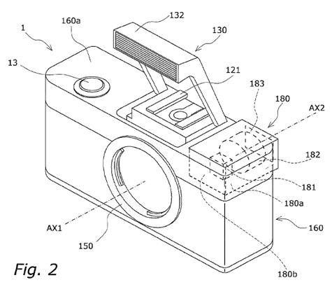Panasonic patent evf GF1