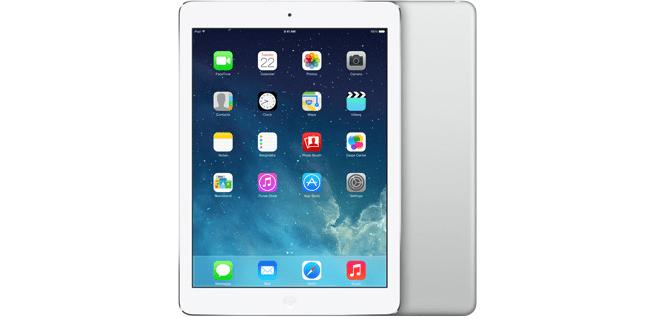 Apple iPad Air WiFi 16GB Zilver