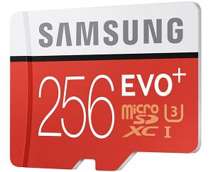Samsung 256GB micro-sdxc