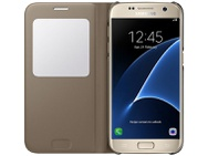 Samsung Galaxy S7 S-View Cover Goud