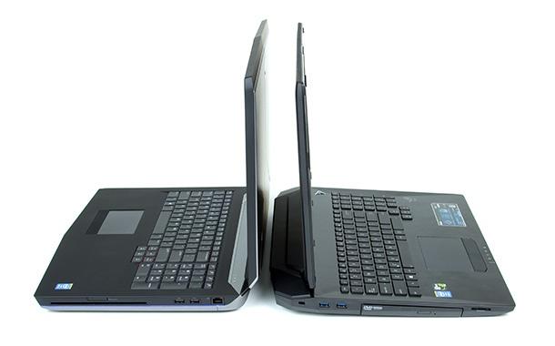 Asus G750J en Alienware 17