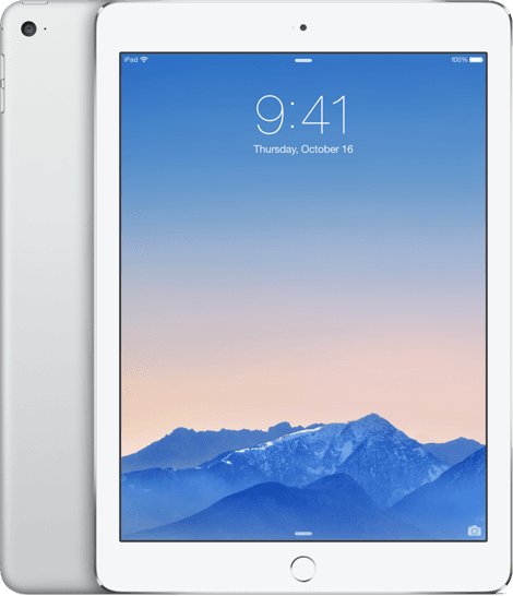 Apple iPad Air 2 WiFi + Cellular 16GB Zilver