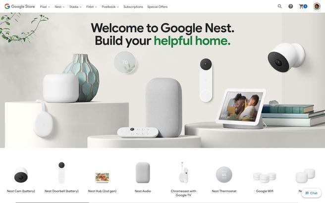 Nieuwe Google Nest-producten