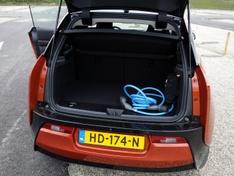 BMW i3 achterbak