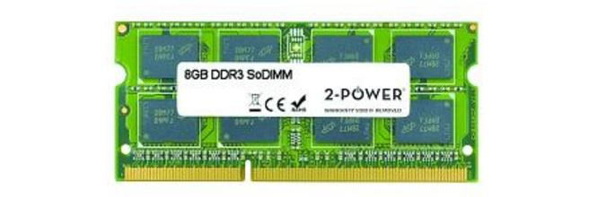 2-Power 8GB MultiSpeed SoDIMM