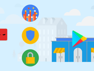 Google Play Store illustratie