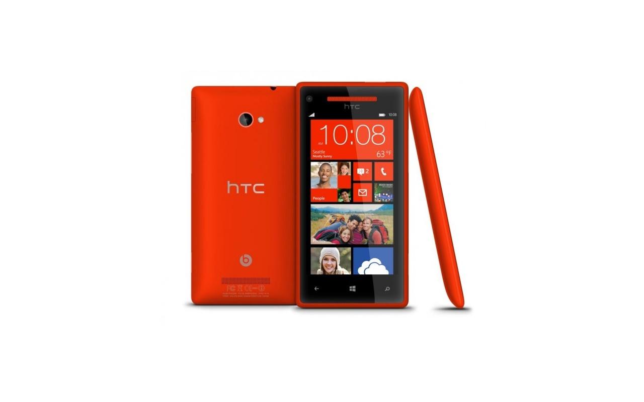HTC Windows Phone 8X Rood