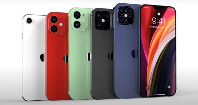 iPhone 12-renders