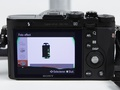 Sony RX1 grafische filters menuinterface