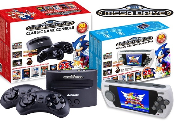 At Games Sega Mega Drive