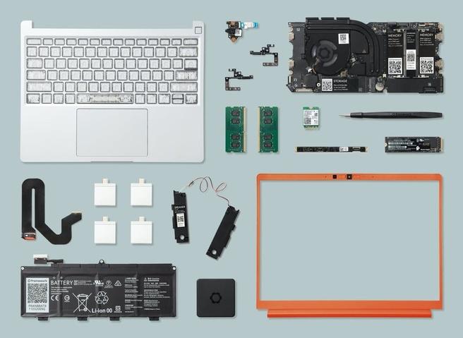 Framework modulaire laptop onderdelen