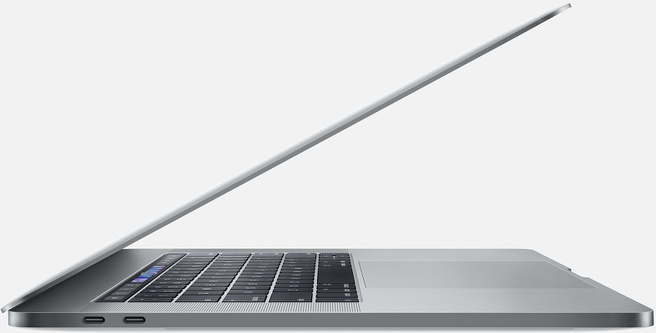 "Apple MacBook Pro 2018 15,4"" i7 2,2 GHz, 256GB (Qwerty) Spacegrijs"