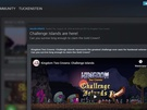 Nieuwe Steam-interface