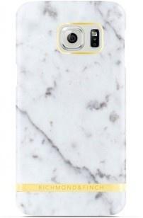 Richmond & Finch Marble Glossy Samsung Galaxy S7 edge Case - White
