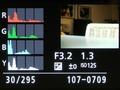 Lumix GH3 weergavestanden afspelen