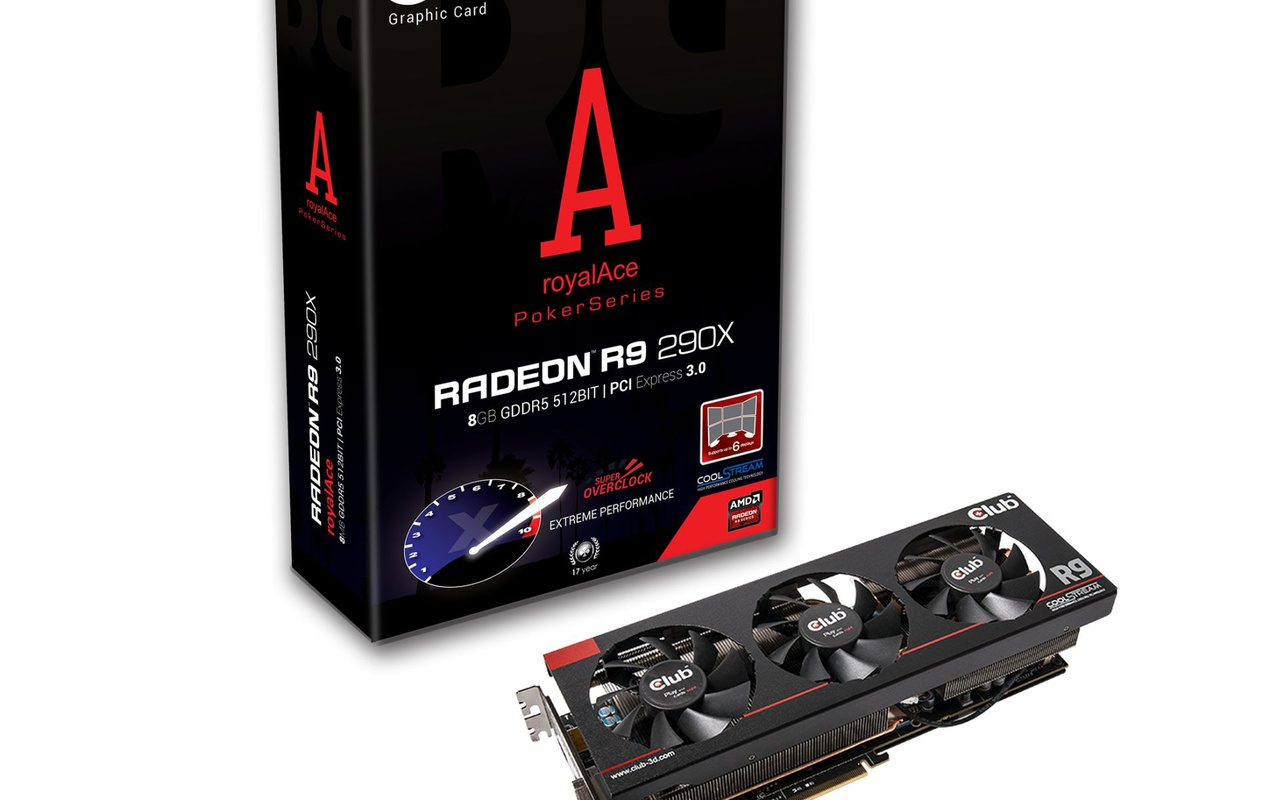 AMD Radeon R9 290X MSI PowerColor Club 3D