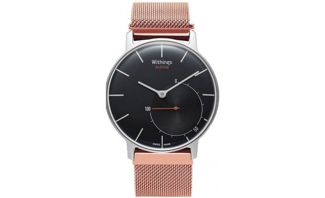 qMust Milanees armband voor Withings Activite - Rose Gold